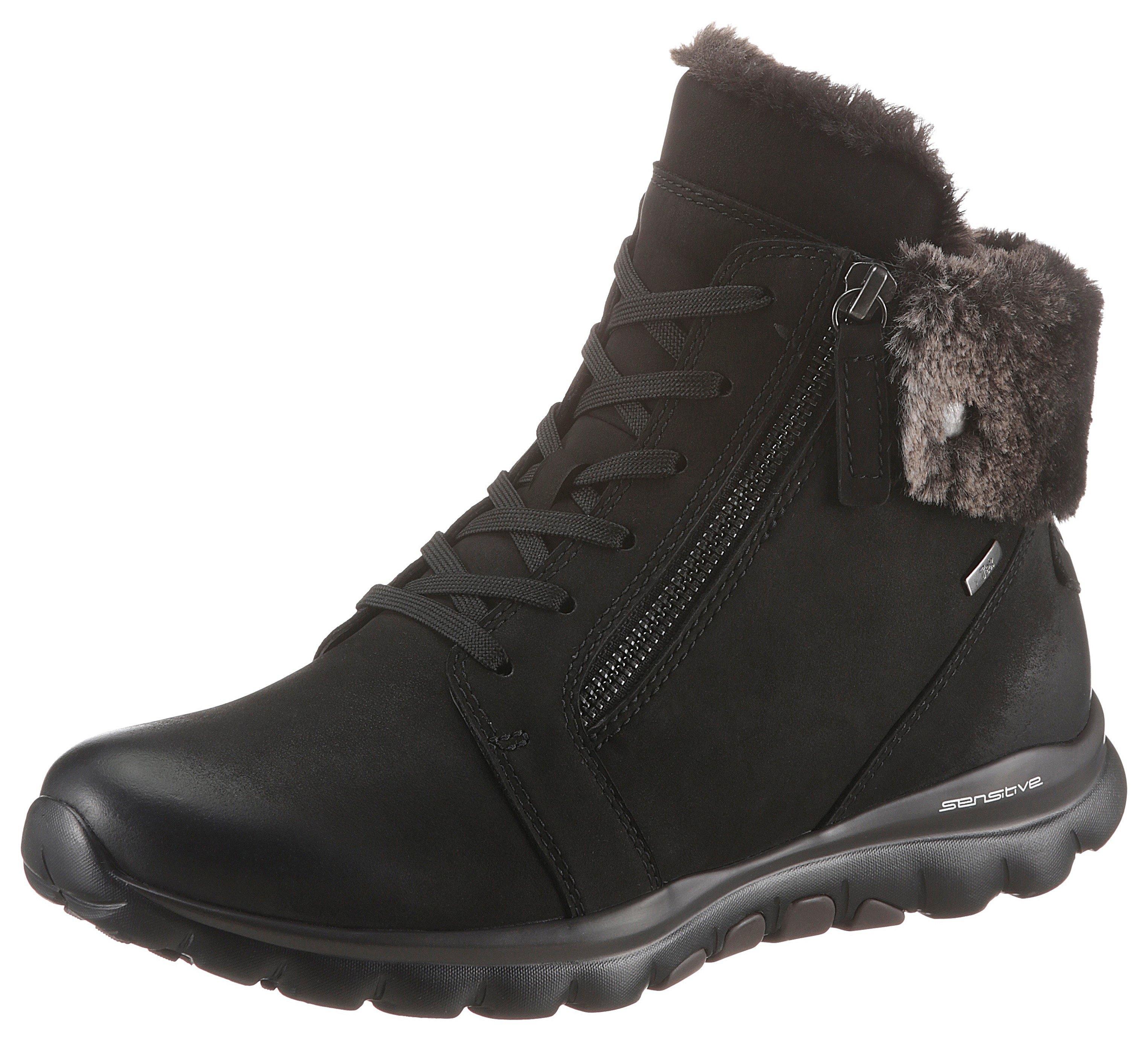 Gabor Rollingsoft hoge veterschoenen met beleg van imitatiebont bij OTTO online kopen