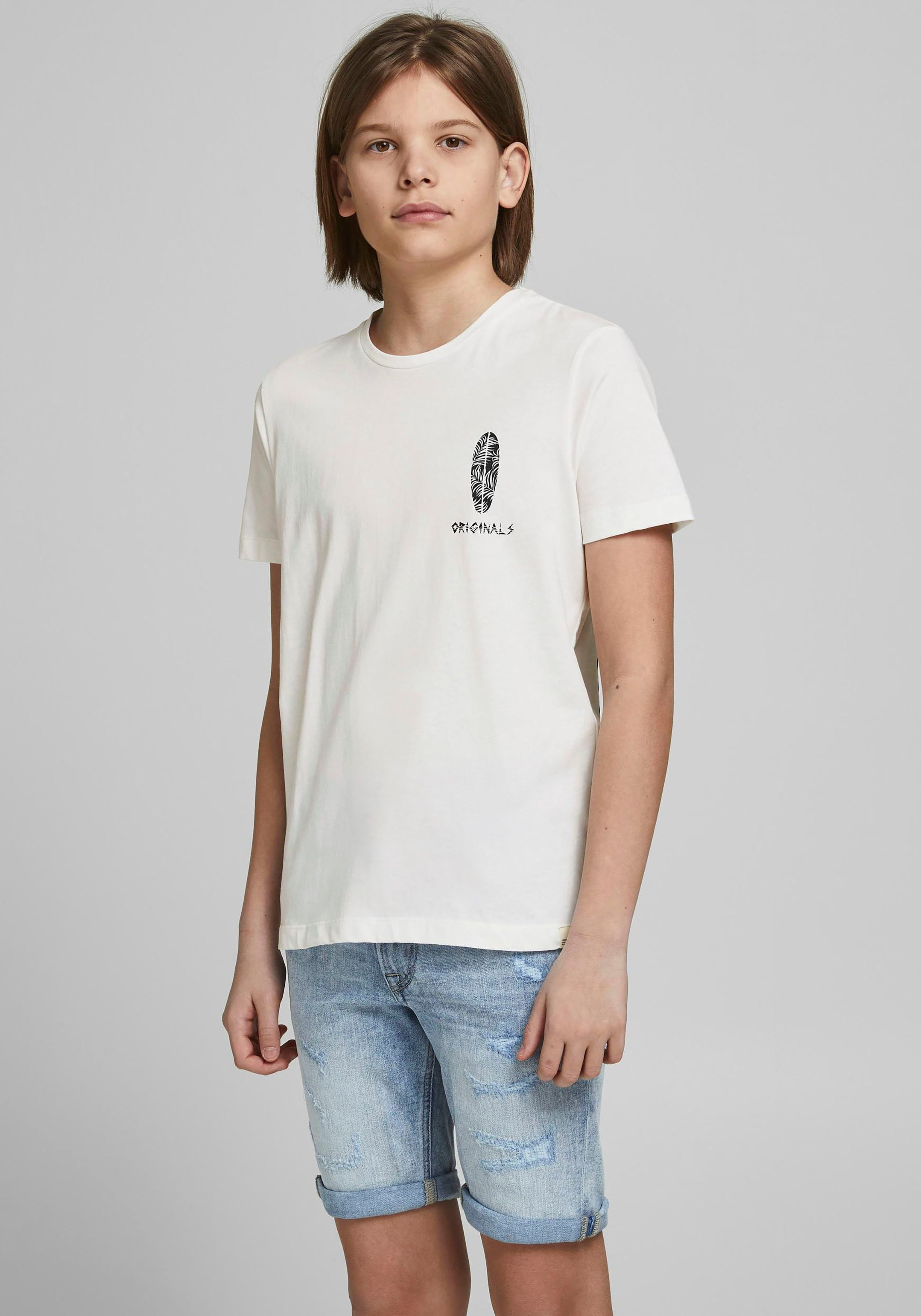 Jack & Jones Junior T-shirt GOOD VIBES veilig op otto.nl kopen