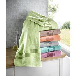 waeschepur handdoek (1 stuk) groen