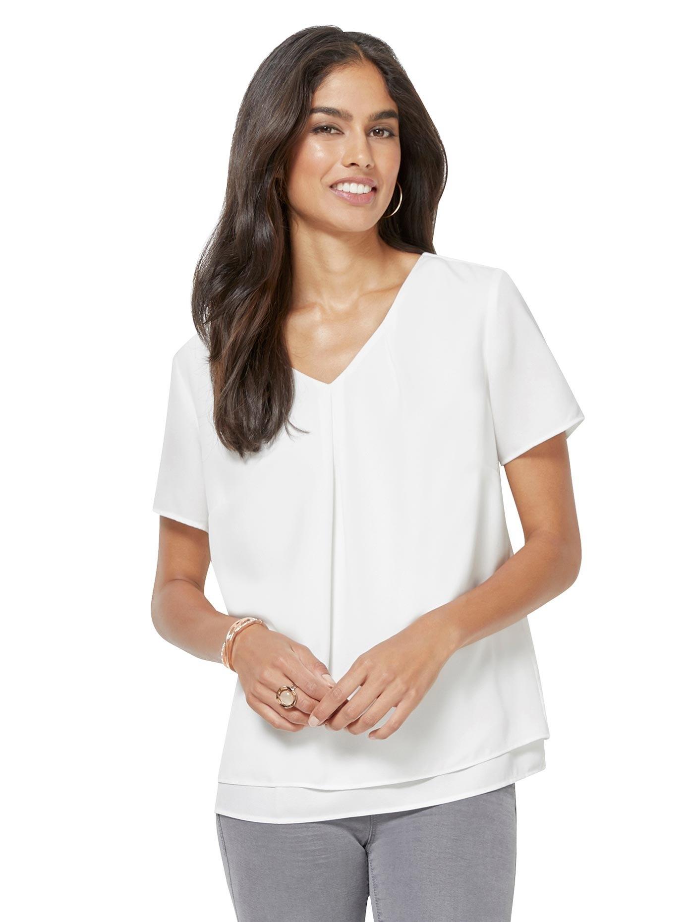 Alessa W. georgette-blouse goedkoop op otto.nl kopen