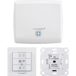 homematic ip »rollladensteuerung (3-tlg.)« smart-home starterset wit