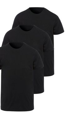 only  sons t-shirt »basic slim o-neck 3 pack« zwart