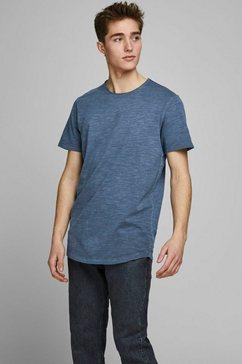 jack  jones t-shirt »asher tee« blauw