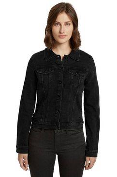 tom tailor denim jeansjack zwart
