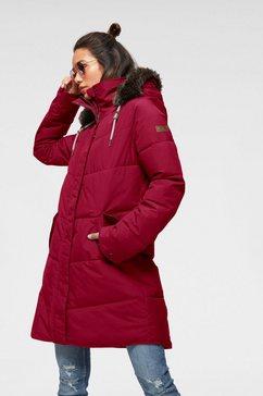 roxy gewatteerde jas »ellie jk« rood