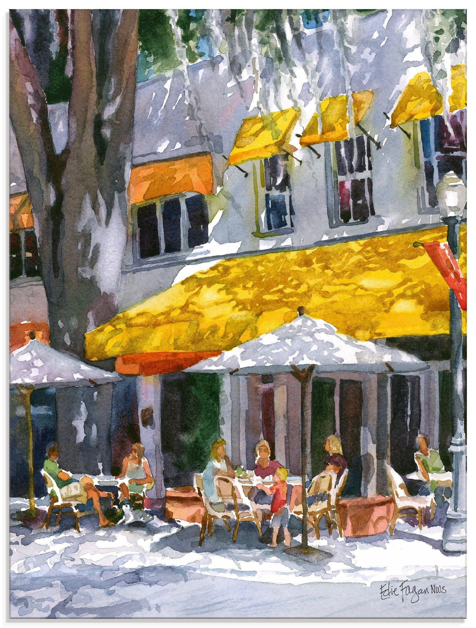 Artland print op glas Aprilavond (1 stuk) nu online bestellen