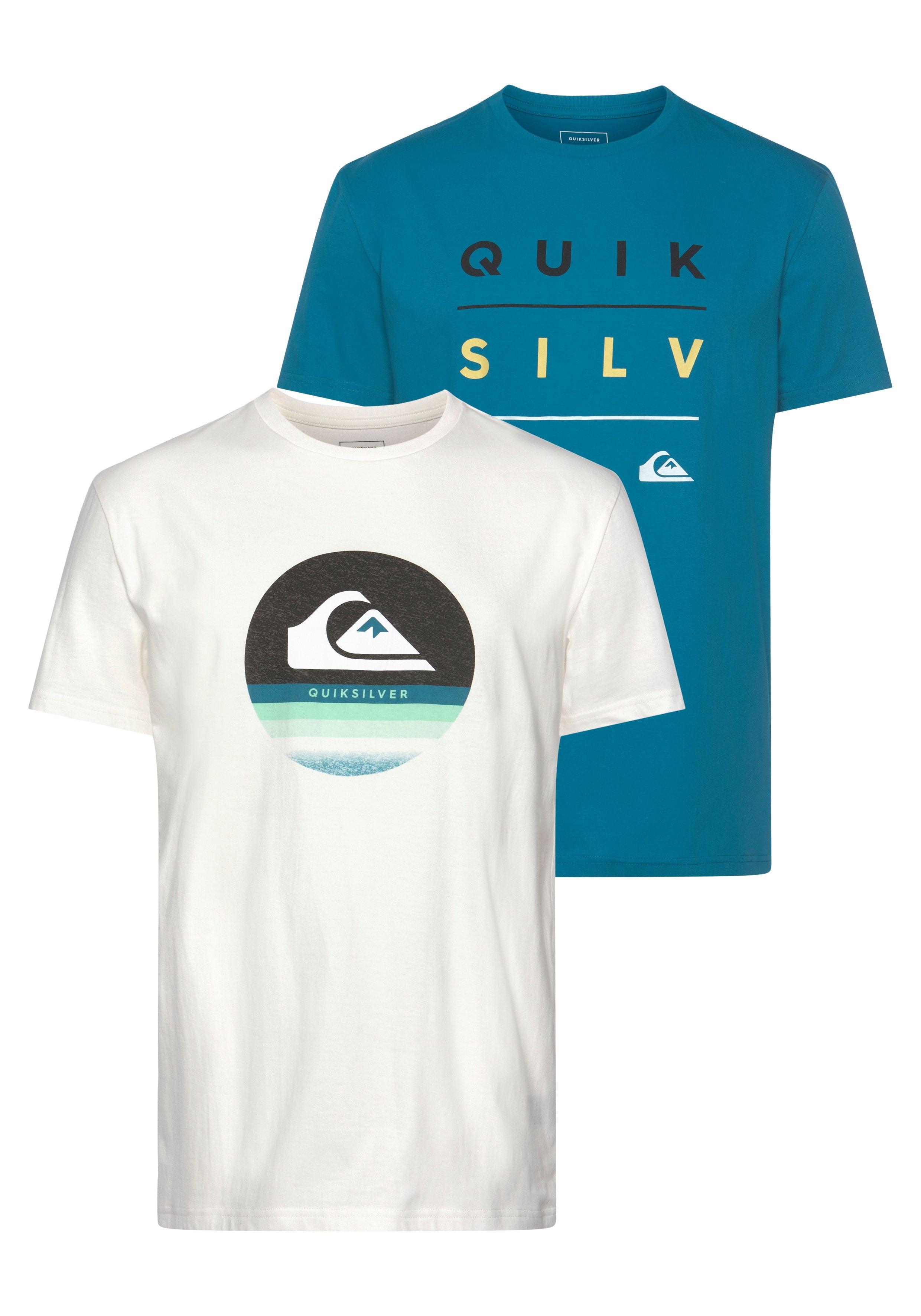 Quiksilver T-shirt »STACK SHIFT FLAXTON PACK« (Set van 2) - verschillende betaalmethodes