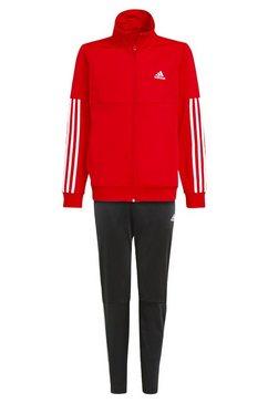 adidas performance trainingspak »3-streifen team« rood