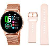 lotus smartwatch smartime, 50001-1 (3-delig, met wisselband van zacht silicone en oplaadkabel) goud