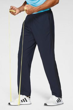 adidas performance trainingsbroek »osr m woven 3 stripes pant« blauw
