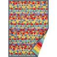 andas vloerkleed eltje tweezijdig te gebruiken kleed met twee designs, woonkamer multicolor