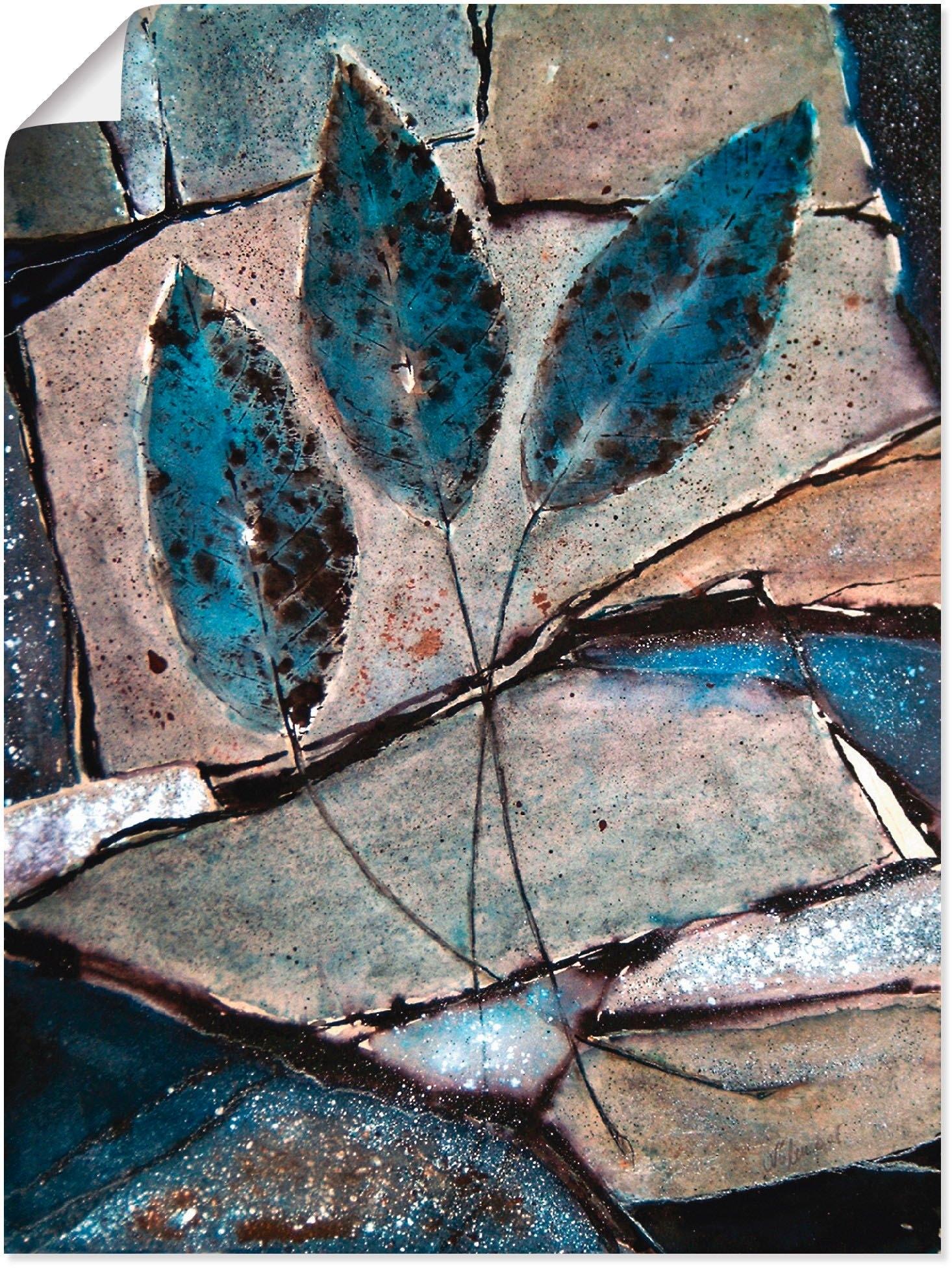Artland artprint »Blaue Blätter« goedkoop op otto.nl kopen