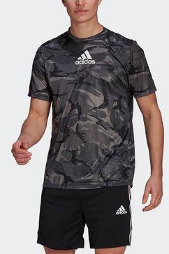 adidas performance t-shirt »m camo gt1« grijs