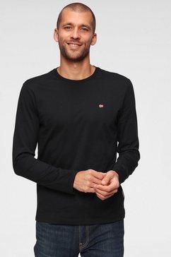 napapijri shirt met lange mouwen zwart