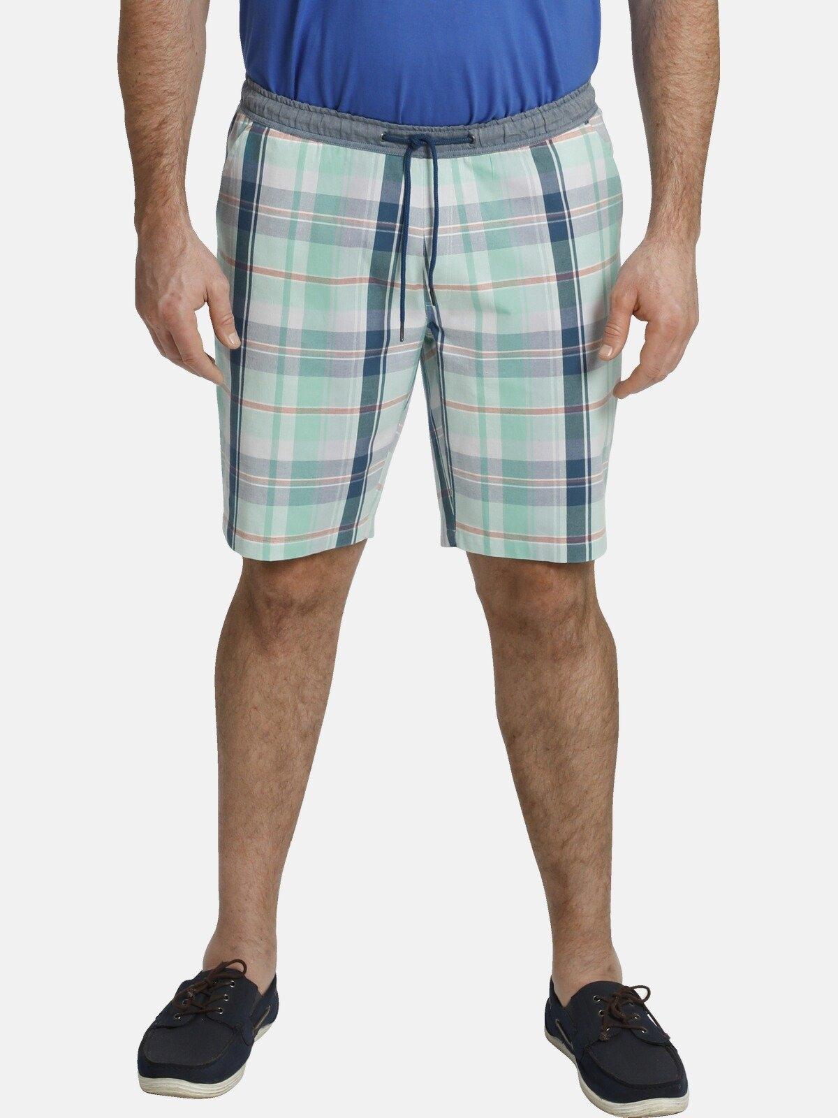 Charles Colby bermuda BARON SERVAN korte geruite broek, comfort fit voordelig en veilig online kopen