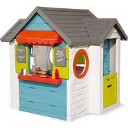 smoby speelhuis chef huis made in europe; tuinhuisje, restaurant en winkel in een multicolor