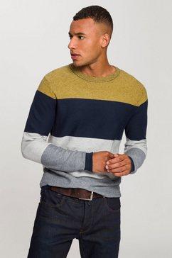 jack  jones gestreepte trui »jorflame knit« multicolor