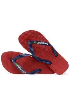havaianas teenslippers »brasil logo« rood