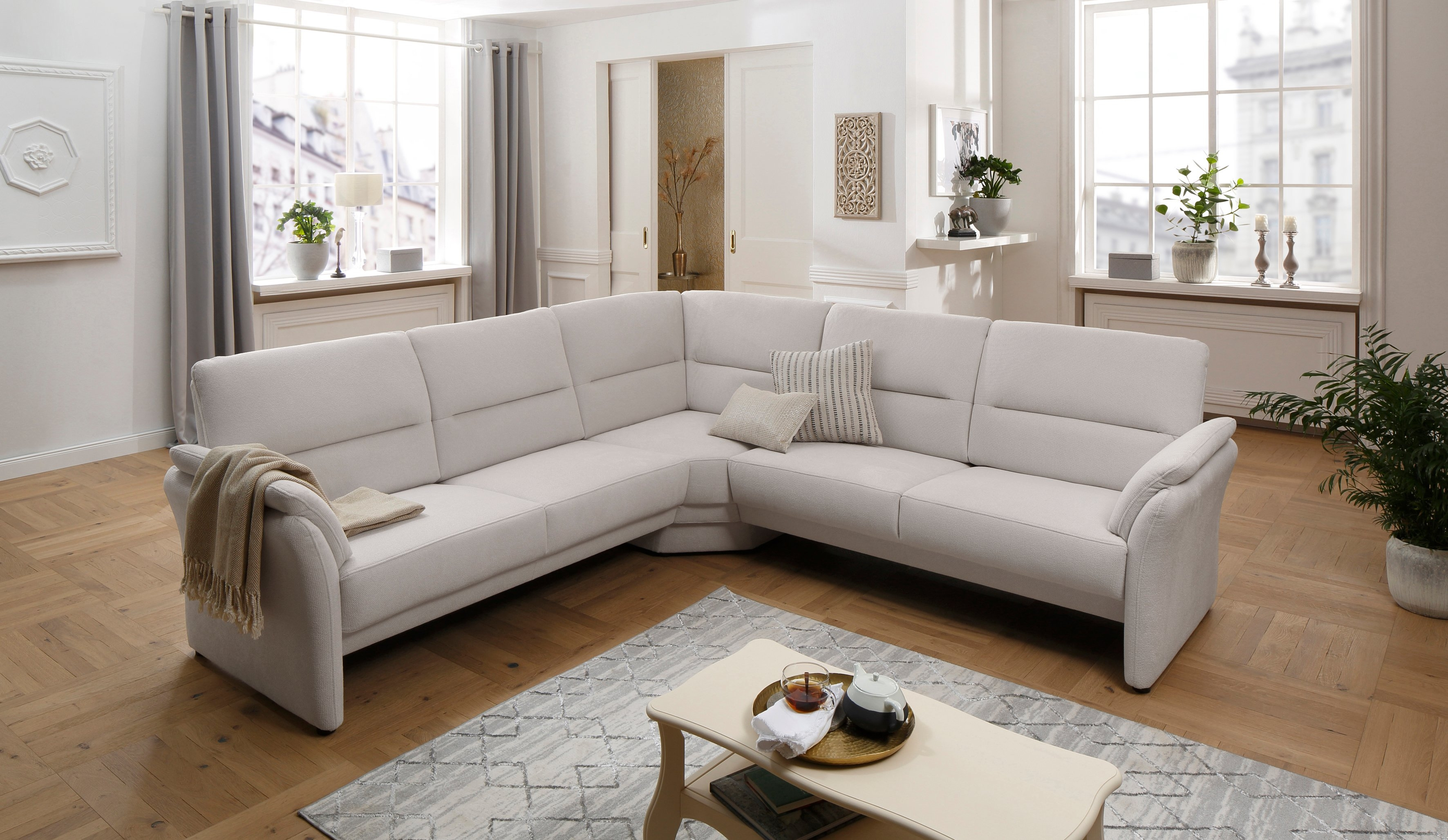 Places of Style hoekbank »Lavello« nu online kopen bij OTTO