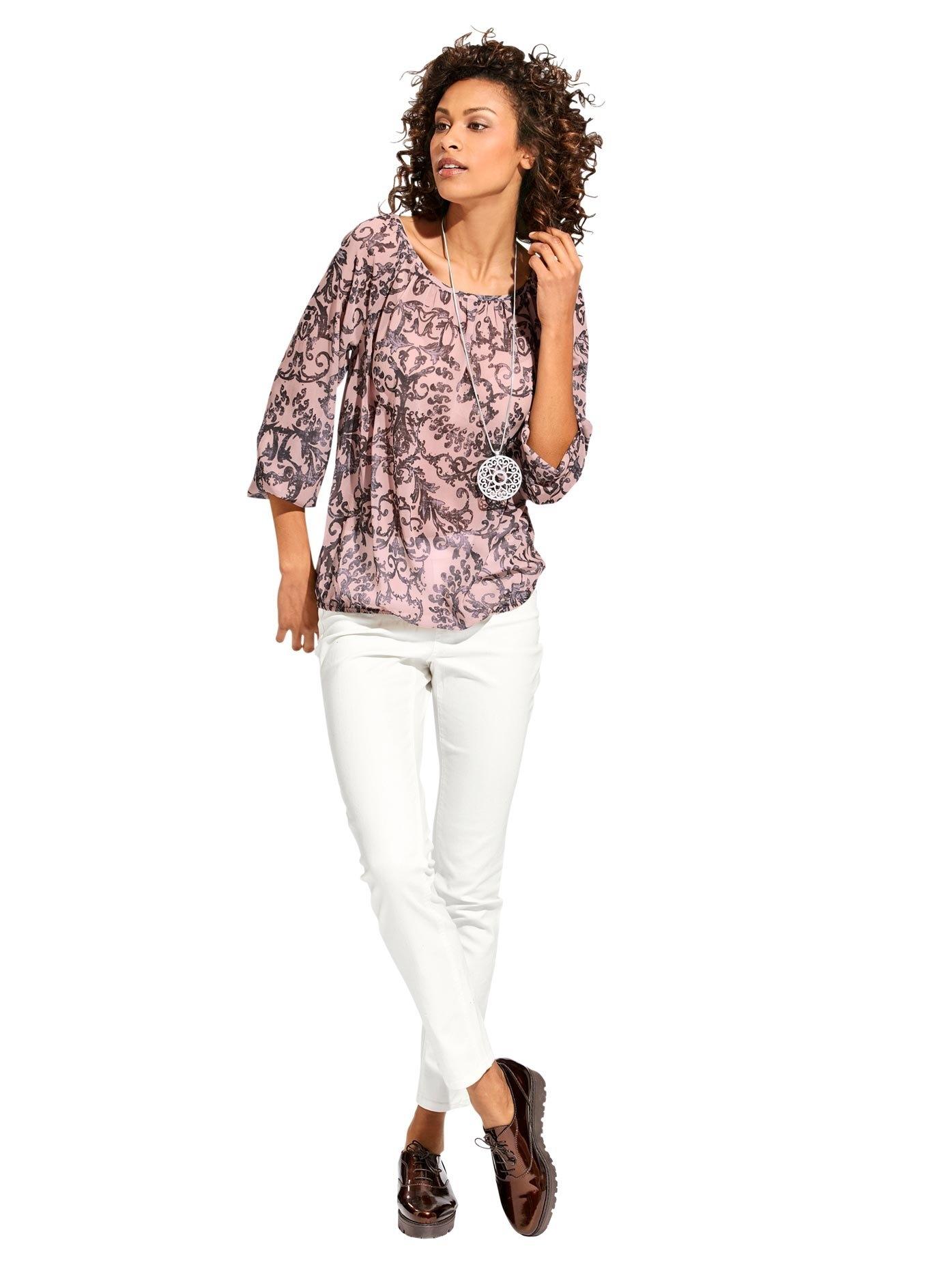 LINEA TESINI by Heine Gedessineerde blouse voordelig en veilig online kopen