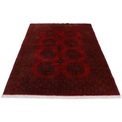 woven arts oosters tapijt »afghan akhche« rood