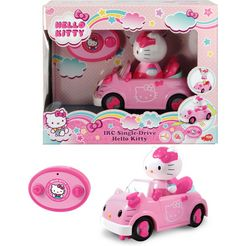 dickie toys speelgoedauto hello kitty irc single-drive roze
