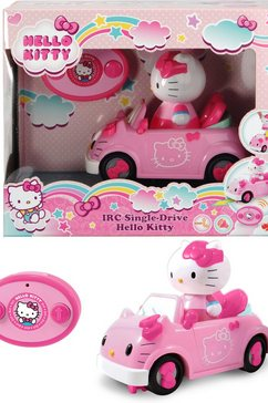dickie toys speelgoedauto hello kitty irc single-drive