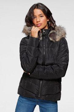 only gewatteerde jas »onltasha« zwart