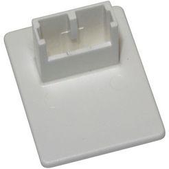 gardinia zelfklevende dragers voor easyfix plisségordijnen (set, 4 stuks) wit