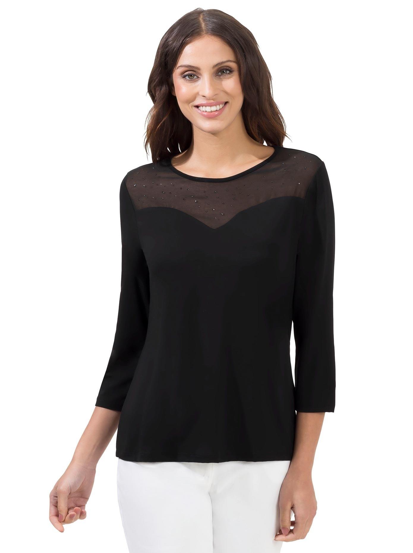 Lady shirt met 3/4-mouwen - verschillende betaalmethodes