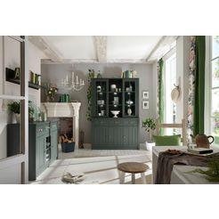 home affaire buffetkast ascot hoogte 196 cm groen