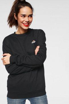 ellesse sweatshirt »arvello sweatshirt« zwart