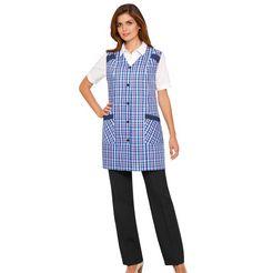 classic basics tuniekschort met trensje op de rug blauw