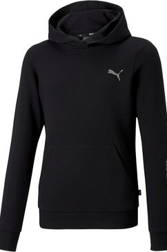 puma hoodie graphic hoodie g zwart