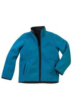 stedman teddy active teddy fleece vest »met uitstekende warmte-isolatie« blauw