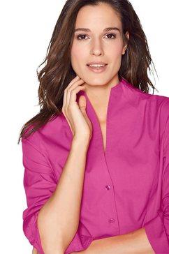 ashley brooke by heine blouse met lange mouwen paars