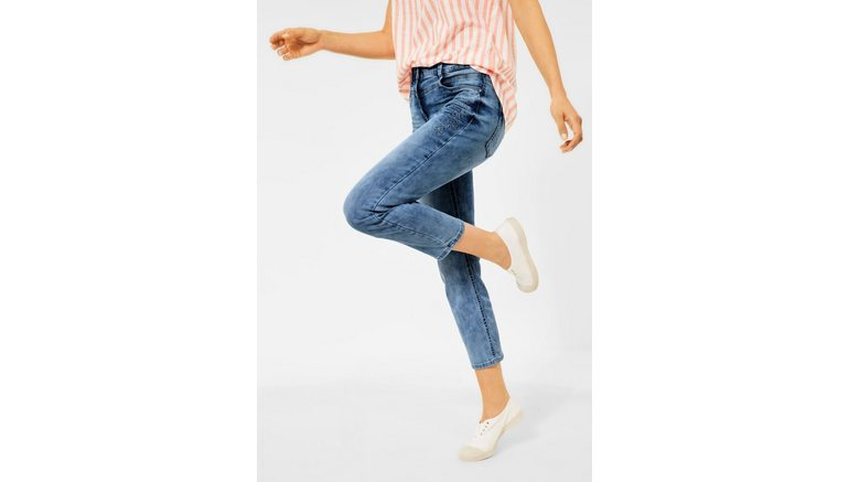 Cecil slim fit jeans High Waist