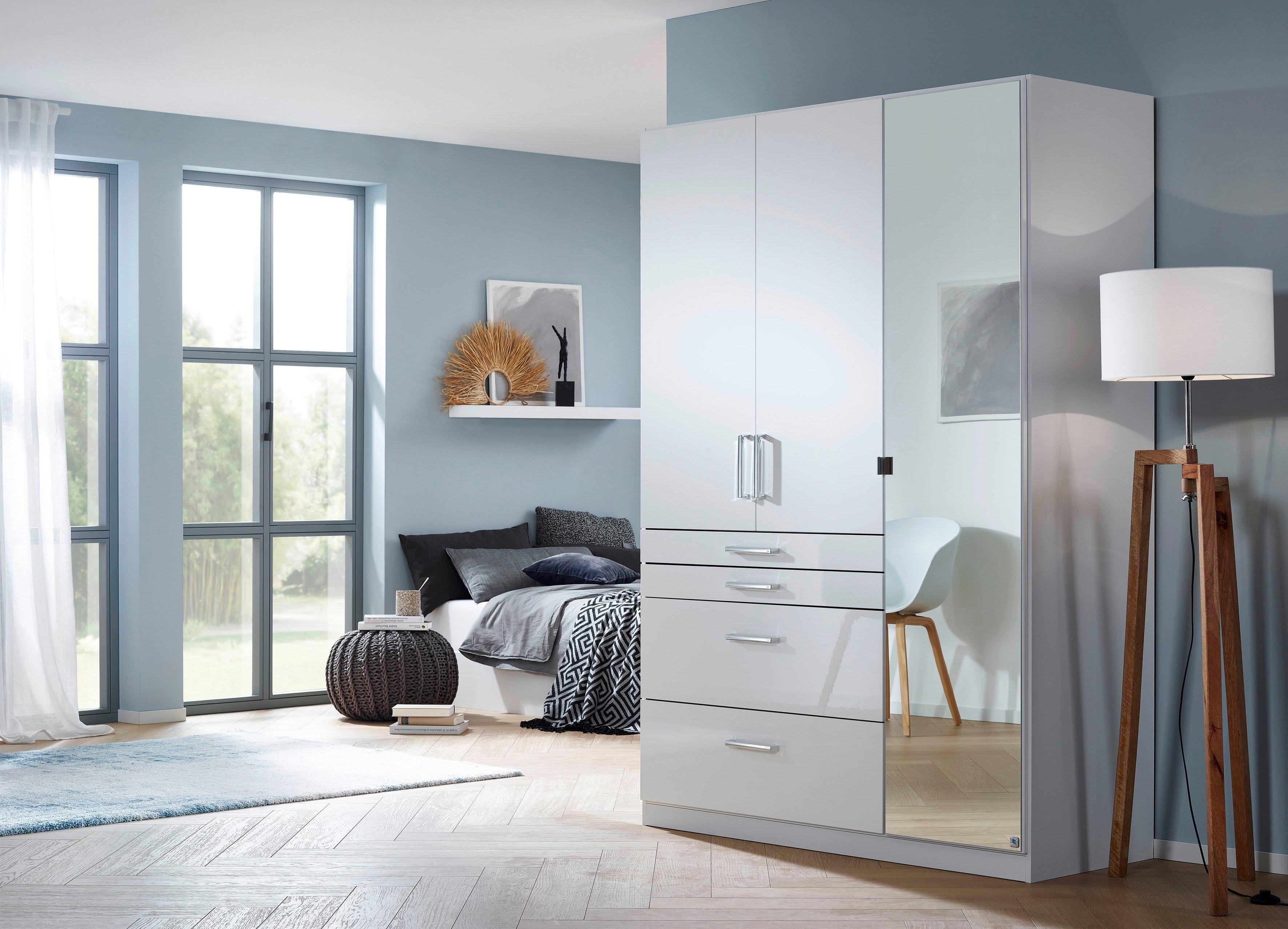 Rauch SELECT Draaideurkast Homburg met spiegel, bovenste lade met indeling bij OTTO online kopen