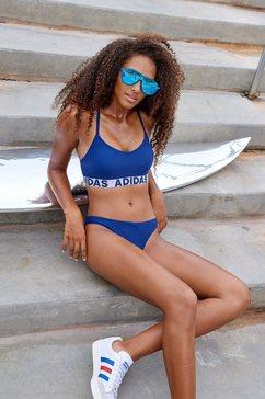 adidas performance bustierbikini blauw