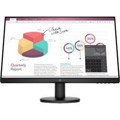 hp lcd-monitor »p24v g4« (23,8 inch, 1920 x 1080 pixel, full hd, 5 ms responstijd, 60 hz) zwart