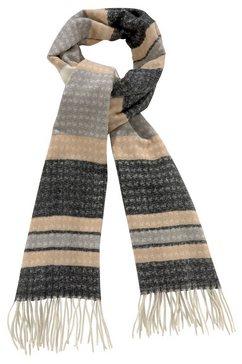 j.jayz modieuze sjaal gestreept, franjeranden multicolor