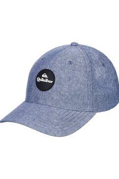 quiksilver snapback cap »decades advanced« blauw