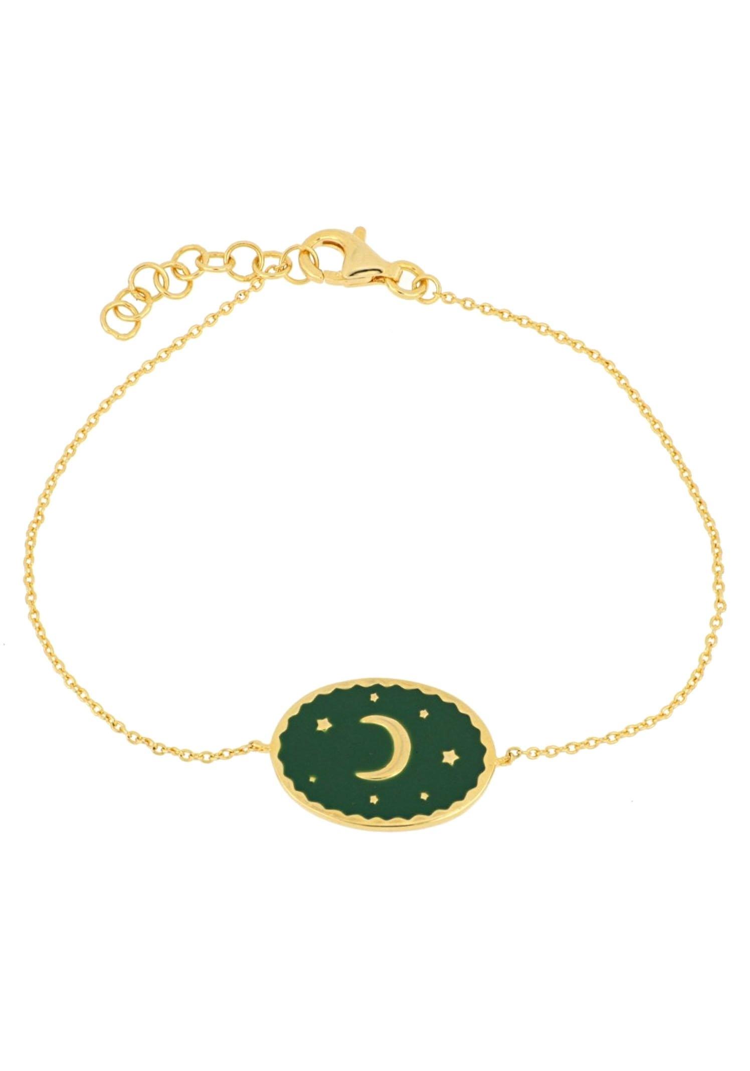 Firetti armband Maan & sterren, verguld, in een glanzende look, massief goedkoop op otto.nl kopen
