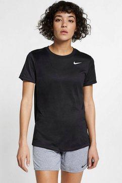 nike trainingsshirt »dry legend women's training t-shirt« zwart