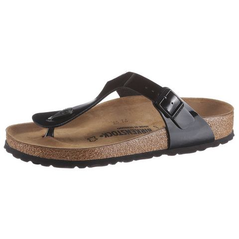BIRKENSTOCK Teenslippers in nubuck-look