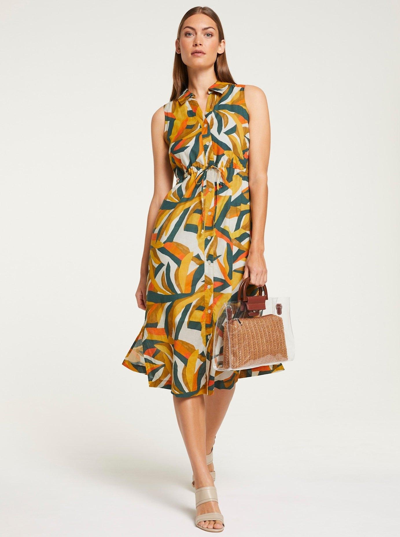 RICK CARDONA by Heine jurk met overhemdkraag met zijsplitten in de webshop van OTTO kopen