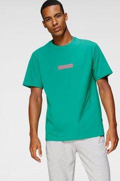 converse t-shirt »explorer graphic tee« groen