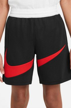 nike functionele short »nike big kids' basketball shorts« zwart