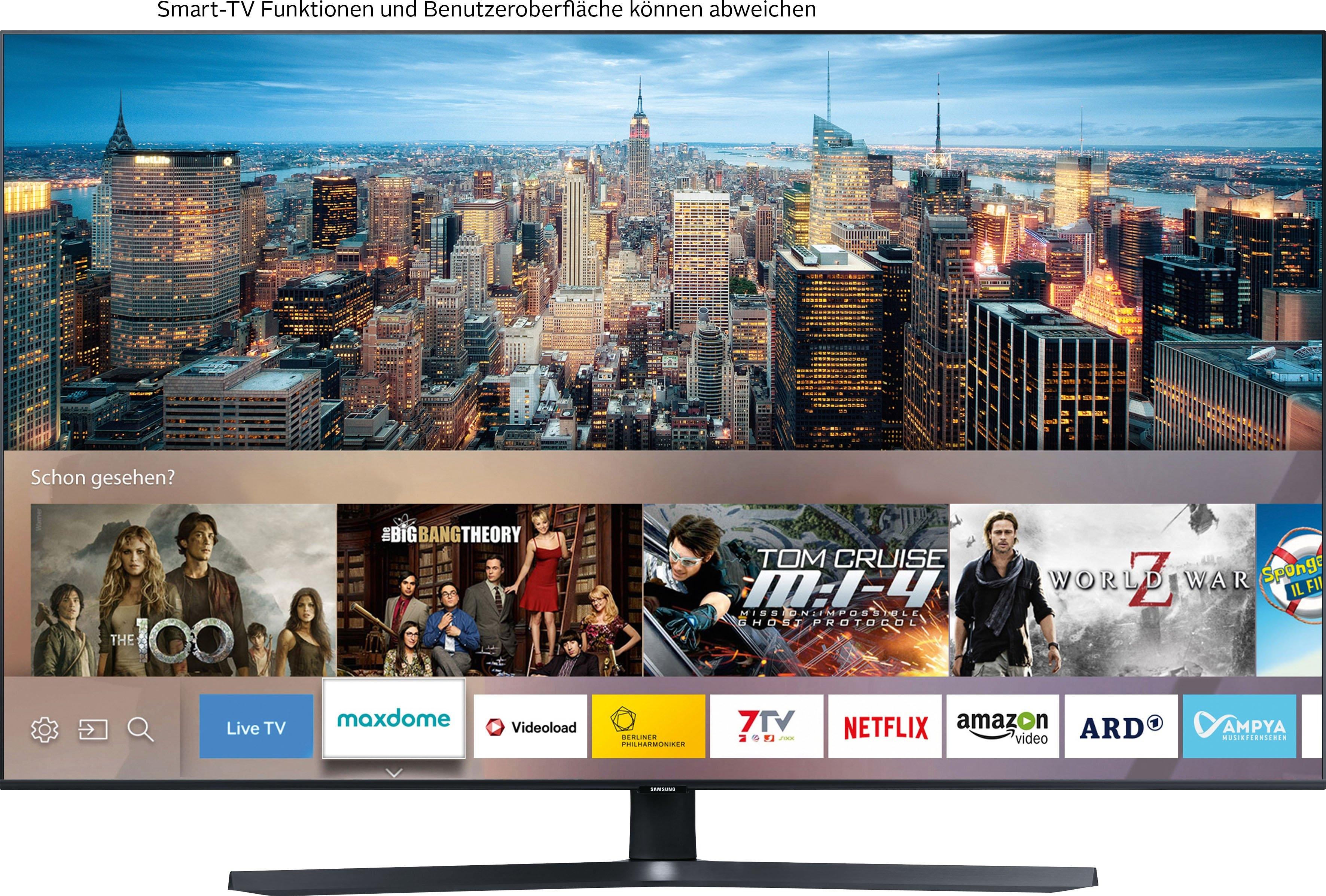 SAMSUNG »GU50TU8509« LED-TV - gratis ruilen op otto.nl