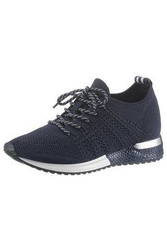 la strada sneakers met sleehak »fashion sneaker« blauw